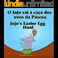 Livro infantil em Ingles: O Jojo vai à caça dos ovos da Páscoa.Jojo's Easter Egg: Livros para crianças (Edição Bilíngue) Bilíngue Português Inglês. Livros ... ilustrado. Bilíngue Português Inglês 11)