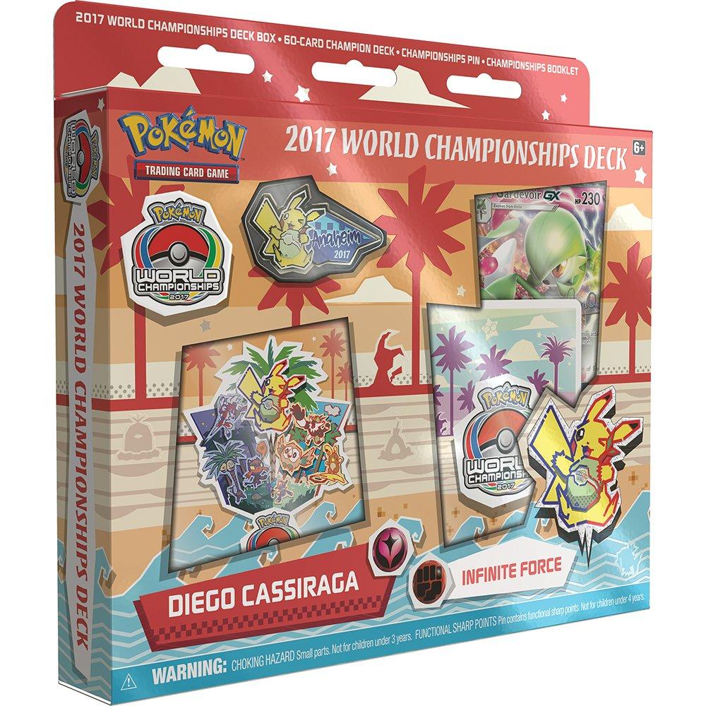 Pokemon 2017 World Championship Gardevoir-GX, Diego Cassiraga, Infinite Force Deck