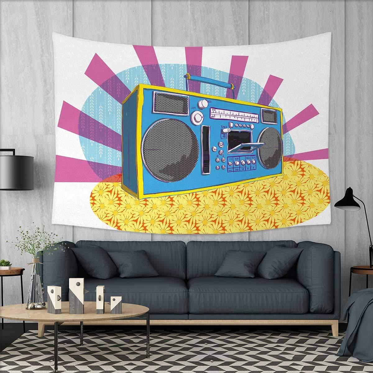 Amazon.com: Anniutwo 70s Party Art Wall Decor Peace Symbol of ...