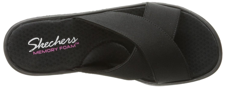 Skechers Cali Kvinners Rumblers Gore-aktig Kile Sandal aSQdLy