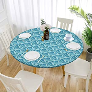 Damask Picnic Table Cover 60
