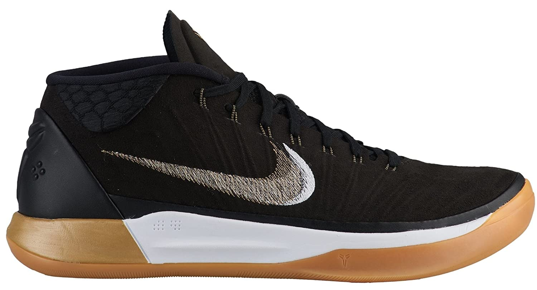 NIKE Men's Kobe AD Basketball Shoe B07BH5L1MX 11.5 D(M) US|Black/Metallic Gold/Anthracite/White