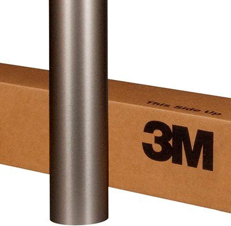 "3M Scotchprint Matte Dark Gray Wrap Film 18/""x48/"" 6 sq ft."