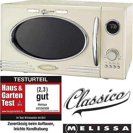 Melissa - Horno de microondas, de diseño clásico con estilo retro ...