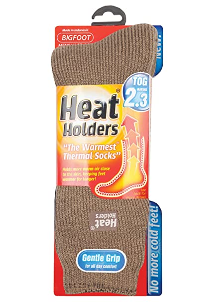 HEAT HOLDERS - Pie Grande bigfoot para hombre térmico calcetines Tamaño - 46-50 eur