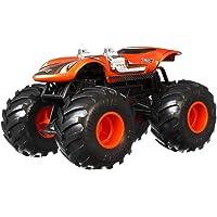 Hot Wheels-Monster Trucks Twin Mill, coche de juguete