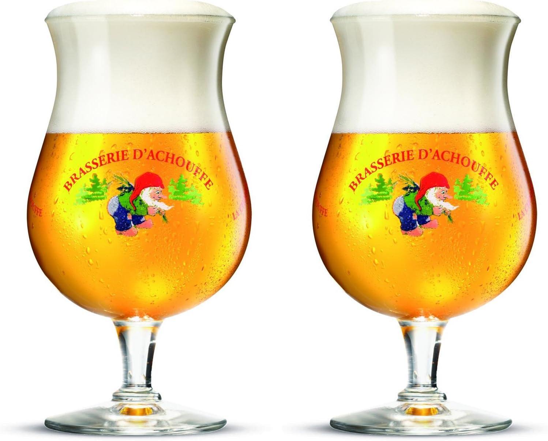 Delirium Tremens Pink Elephants Belgian Ale Tulip Beer Glass 330ml