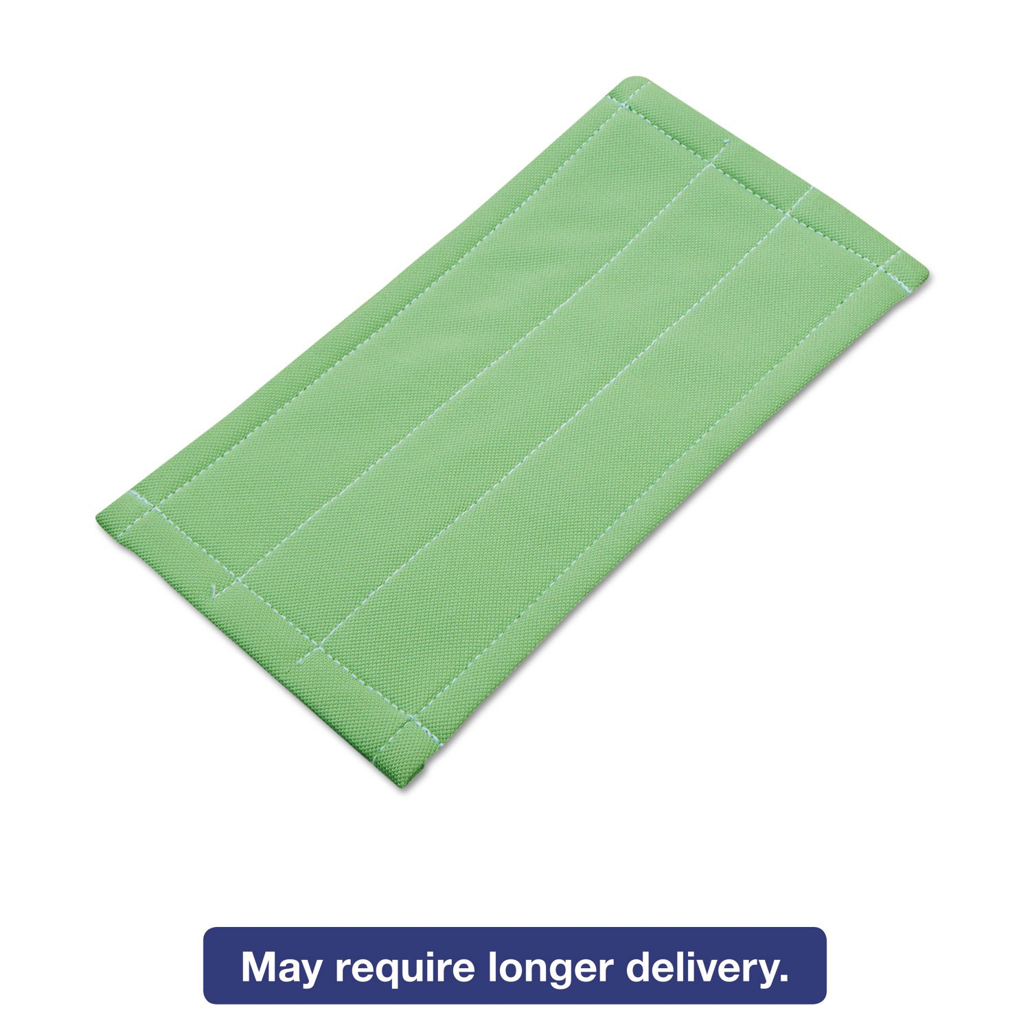 Unger Microfiber Cleaning Pad, Green, 6 x 8, 5/Carton