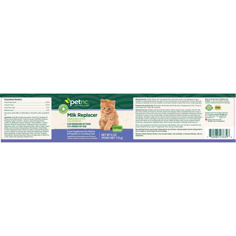 Buy Petnc 6 Count Kitten Milk Replacer Online At Low Prices In India Amazon In