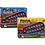 Teenymates MLB American and National League Collectible Figures Bundle - 2-16 Packs