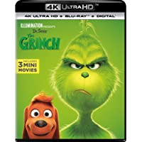 Illumination Presents: Dr. Seuss' The Grinch [Blu-ray]