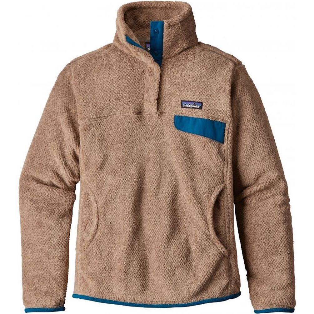 patagonia(パタゴニア) ウィメンズリツールスナップTプルオーバー Ws Re-Tool Snap-T P/O 25442 B06Y1W796Q Small|Light Sesame Bear Brown X-dye/Big Sur Blue Light Sesame Bear Brown X-dye/Big Sur Blue Small