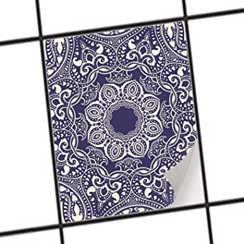 creatisto Mosaikfliesen Folie | PVC Fliesen-Aufkleber - Wandfliesen ...