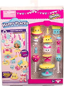 Shopkins Happy Places Season 3 Decorator Pack - Party Time Kitty