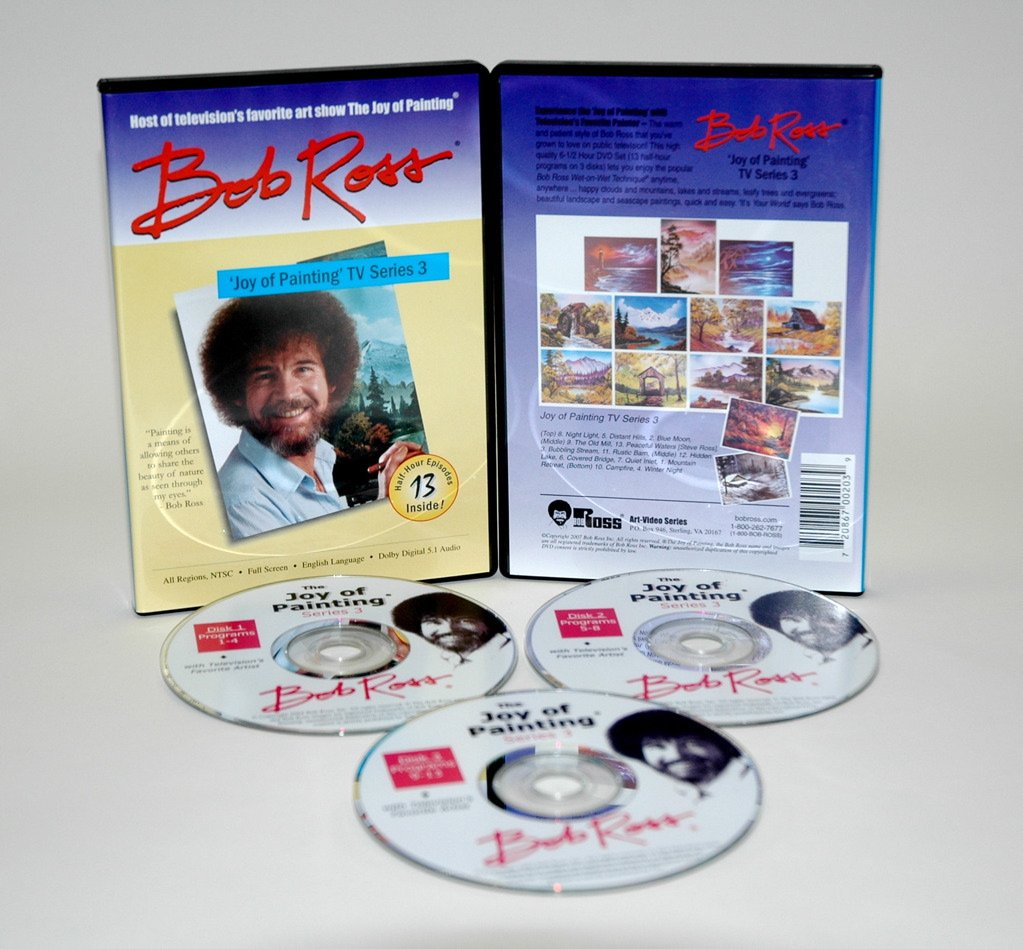 Bob Ross DVD Joy of Painting Series 3 by Martin & F. Weber