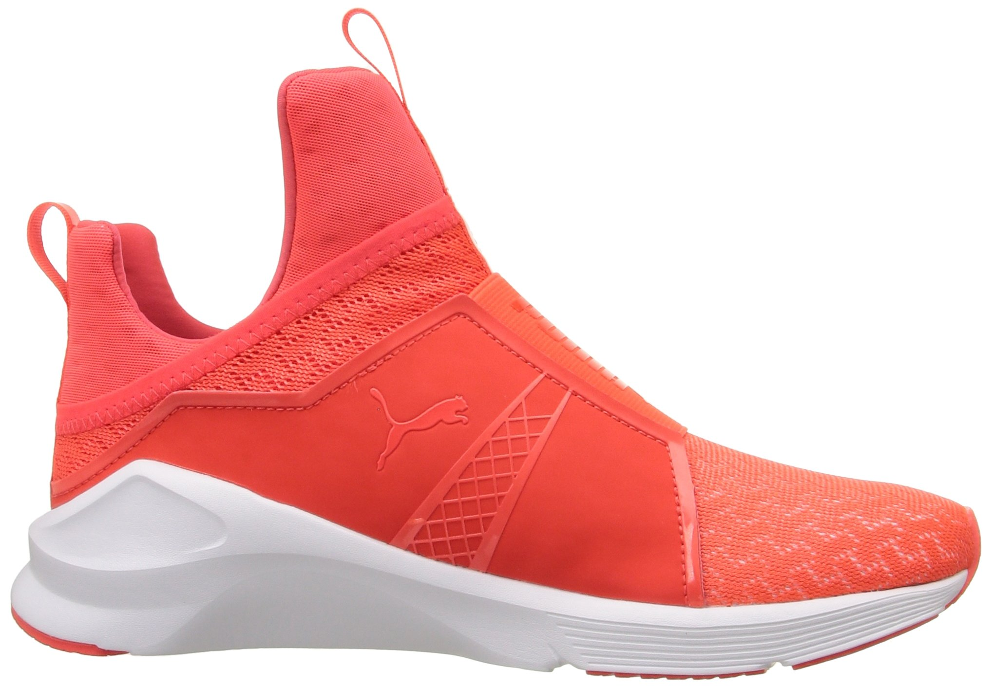 PUMA Women's Fierce Eng Mesh Cross-Trainer Shoe, Red Blast White, 5.5 M US by PUMA (Image #7)