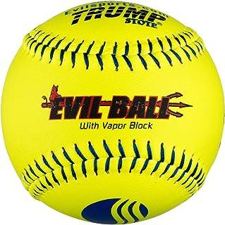 1Douzaine Evil Boule Usssa 30,5cm Softballs–40COR/tronçonneuse de compression (Mp-evil-clas-y-2) Classic M 5cm Softballs-40COR/tronçonneuse de compression (Mp-evil-clas-y-2) Classic M Trump/Evil Sports