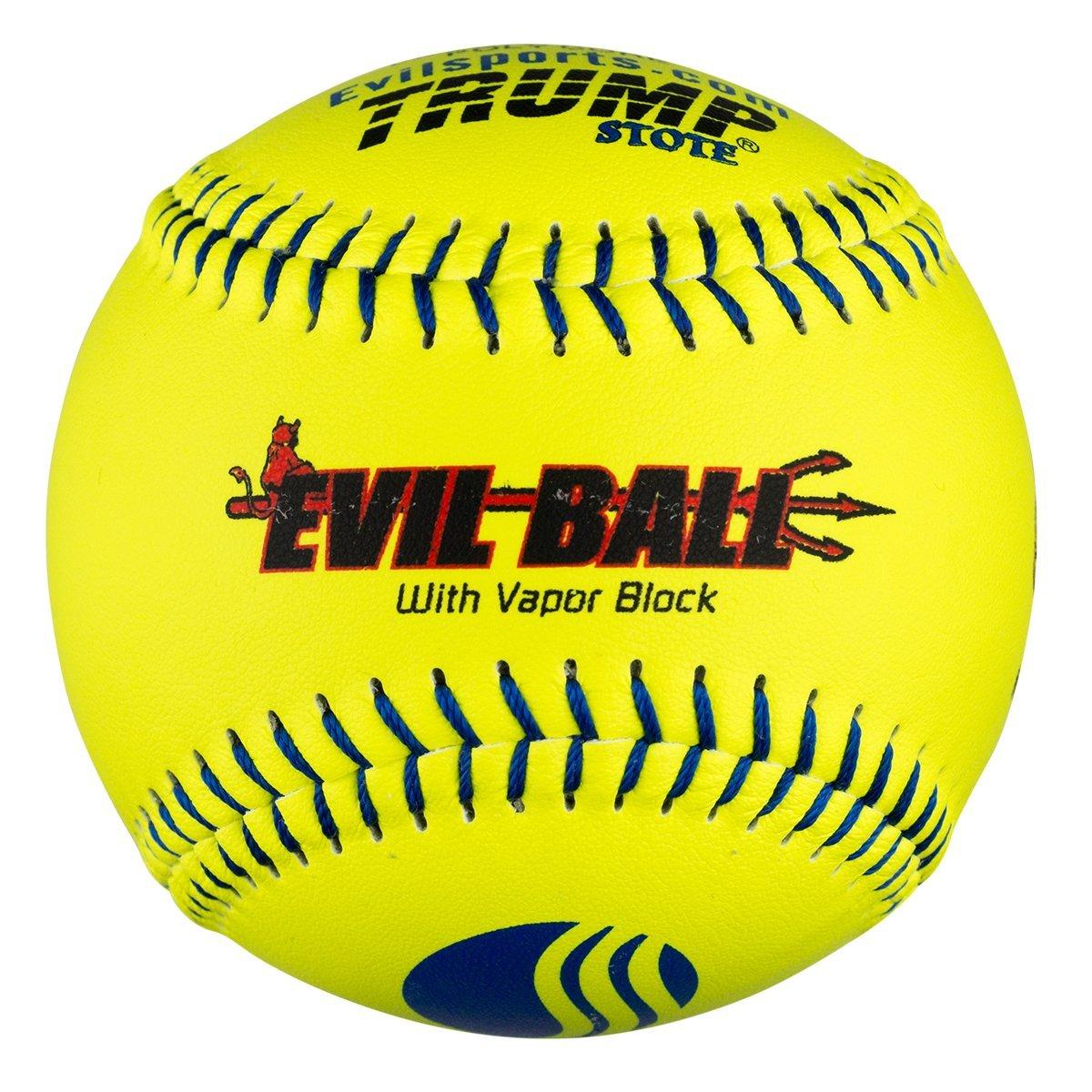 Half Dozen Evil Ball USSSA 12 Softballs 40 cor 325 Compression MP-EVIL-CLAS-Y-2 Classic M 6 Balls