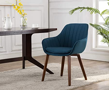 Amazon.com - Porthos Home Garian Fabric Dining Chairs with ...