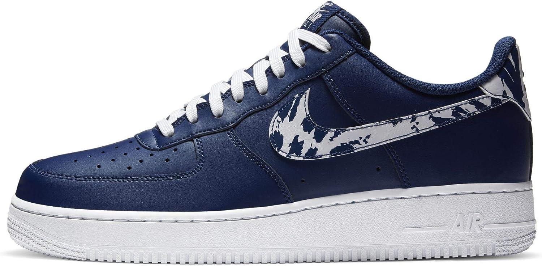 Amazon.com | Nike Men's Shoes Air Force 1 Low Animal Swoosh ...