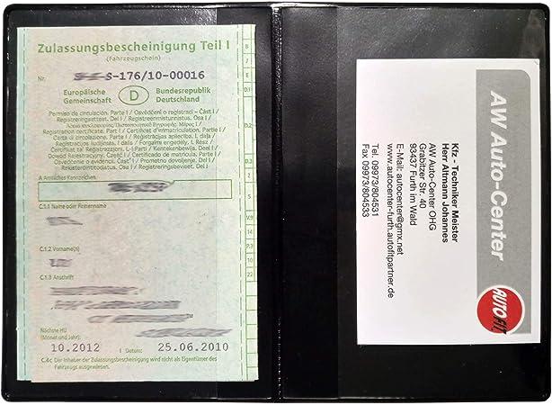 Design KFZ Mappe Hülle Führerschein Ausweis Fahrzeugschein Kreditkarte MH-298