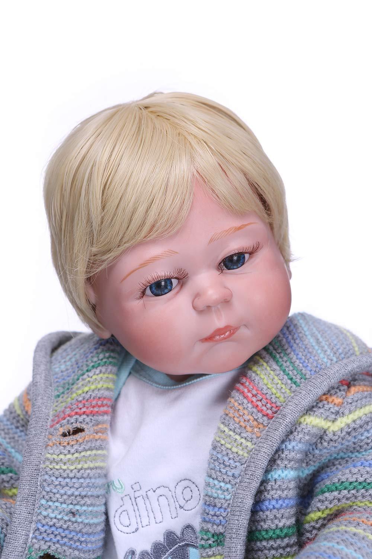 人気満点 iCradle 18インチ45cm 新生児 リボーンドール ソフトビニールシリコン フルボディ 新生児人形 洗濯可能 洗濯可能 新生児 新生児人形 女の子 クリスマスプレゼント ファッショントイ 解剖学的に正しいデザイン B07GFGP3KT, ライフハーモニー:7808a282 --- pmod.ru