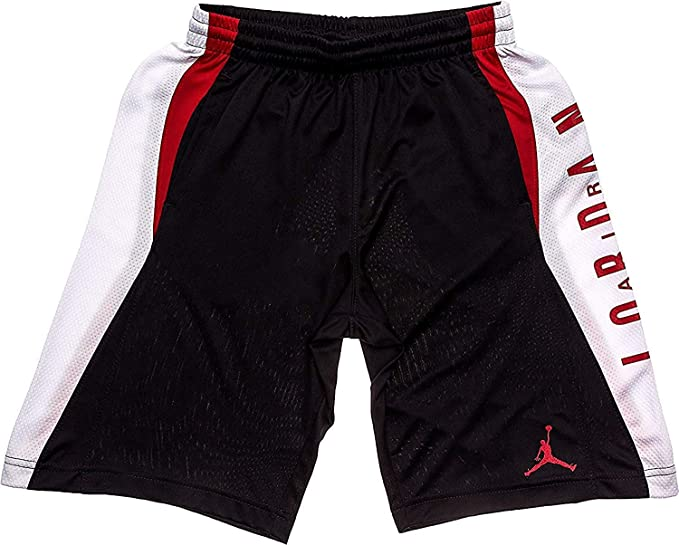 7ea3e40df1ef Amazon.com  Jordan Nike Air Boy s Highlight Dri-Fit Athletic Mesh  Basketball Shorts  Sports   Outdoors