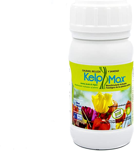 2 KELPMAX® (4.000 m2); Multinutrientes-Algas; Fertilizante premium ...