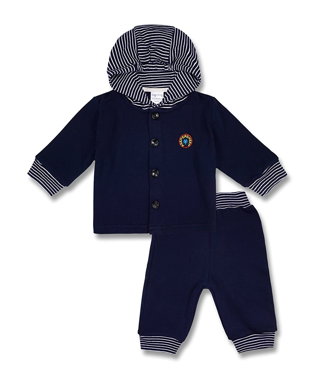 Newborn Kids Tops and Bottoms 2 Packs Set Keepersheep Infant Todder Baby Boys Long-Sleeve Hoodie and Pants Outfits Sets