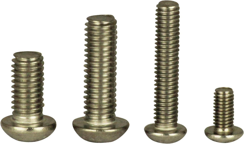 Vis /à t/ête ronde ISR M3x3 /à M12x120 Vis /à t/& ISO 7380 acier inoxydable A2 D ́s Items/® Vis /à t/ête plate avec six pans Vis /à t/ête ronde Vis /à t/ête ronde