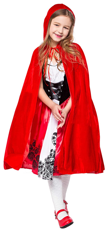 Halloween Costume 4 5.Amazon Com Little Red Riding Hood Costume For Girls Kids Halloween