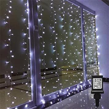 Curtains Ideas curtain lights for bedroom : Amazon.com : AMARS Linkable Low Voltage LED Curtain Lights Bedroom ...