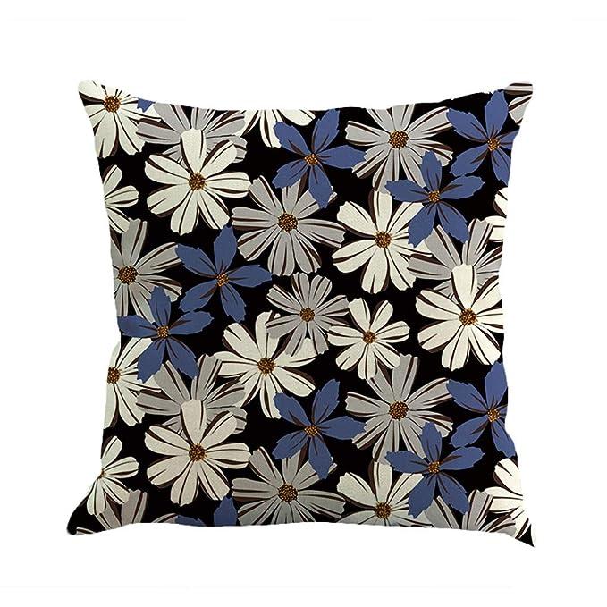 UINGKID Funda de cojín Decorativa para sofá, cojín Lumbar ...