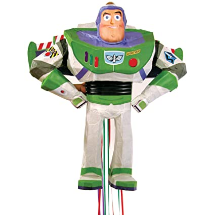 Amazon.com: Buzz Lightyear Piñata (Pull liberación) – Toy ...