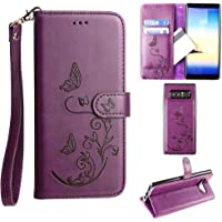 Cellular Outfitter Galaxy Note 8 Wallet Case Wristlet for Women (Purple)