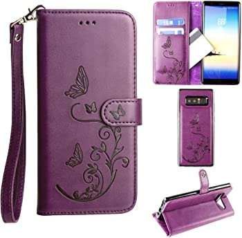 Cellular Outfitter Galaxy Note 8 Wallet Case Wristlet for Women