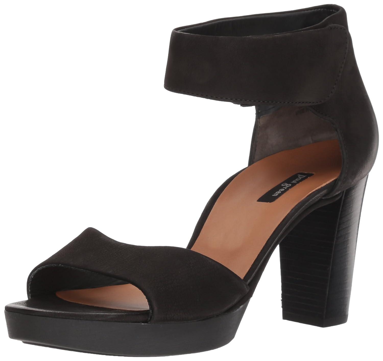 Paul Green Women's Callaway Platform B078X3FLBY 6.5 B(M) US Black Softnubuk
