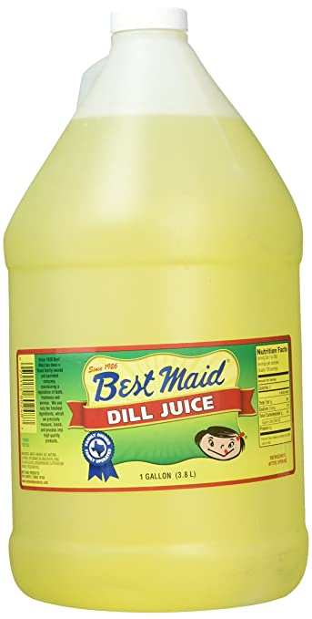 amazon com best maid dill juice 1 gal grocery gourmet food