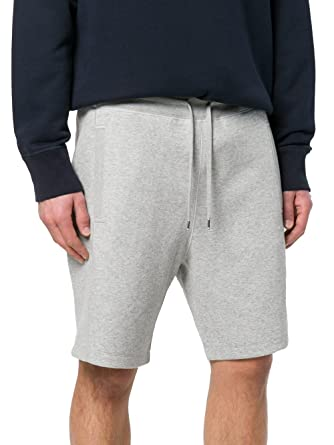 Moncler Gamme Bleu Men's D1391870480080374981 Grey Cotton Shorts