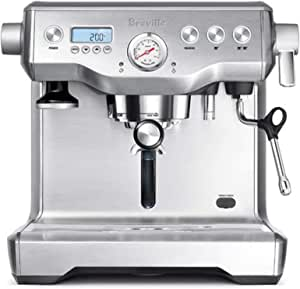 Breville BES920XL Dual Boiler Espresso Machine, Brushed Stainless Steel
