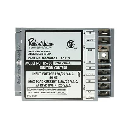 Rheem sp10758 Control de encendido