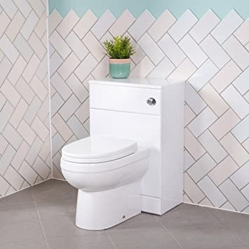 Aquariss Badezimmer Möbel Spülkasten Verkleidung Schrank + Toilette ...