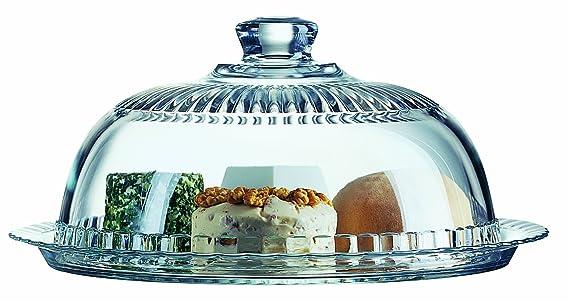 Luminarc Kaseglocke Tortenglocke Aus Glas 27 Cm Amazon De Kuche