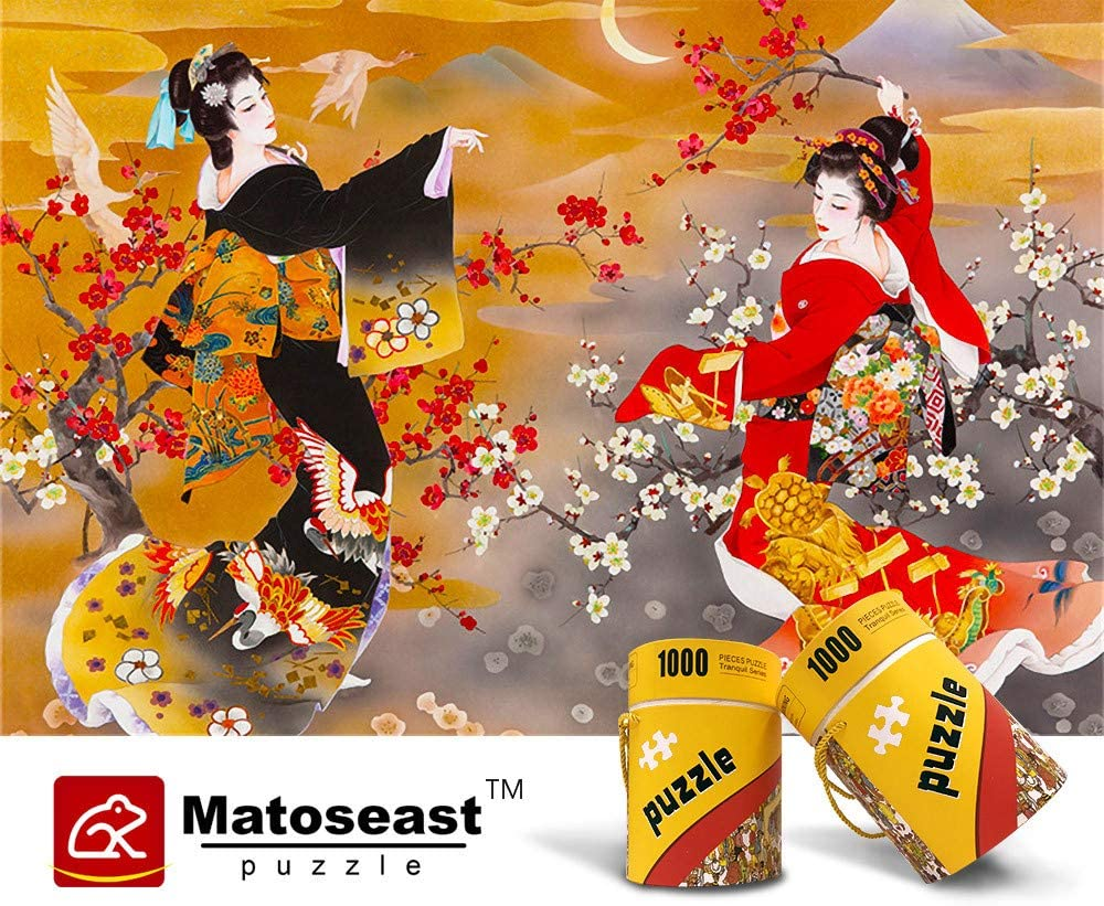Jigsaw Puzzles 1000 Pieces Puzzles for Adult Kimono