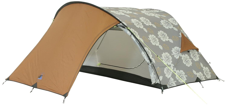 10T Camping-Zelt ProBike 2 Kuppelzelt mit Schlafkabine für 2 Person Outdoor Trekkingzelt mit großem Vorraum, Dauerbelüftung, wasserdicht mit 5000mm Wassersäule und coolem Design