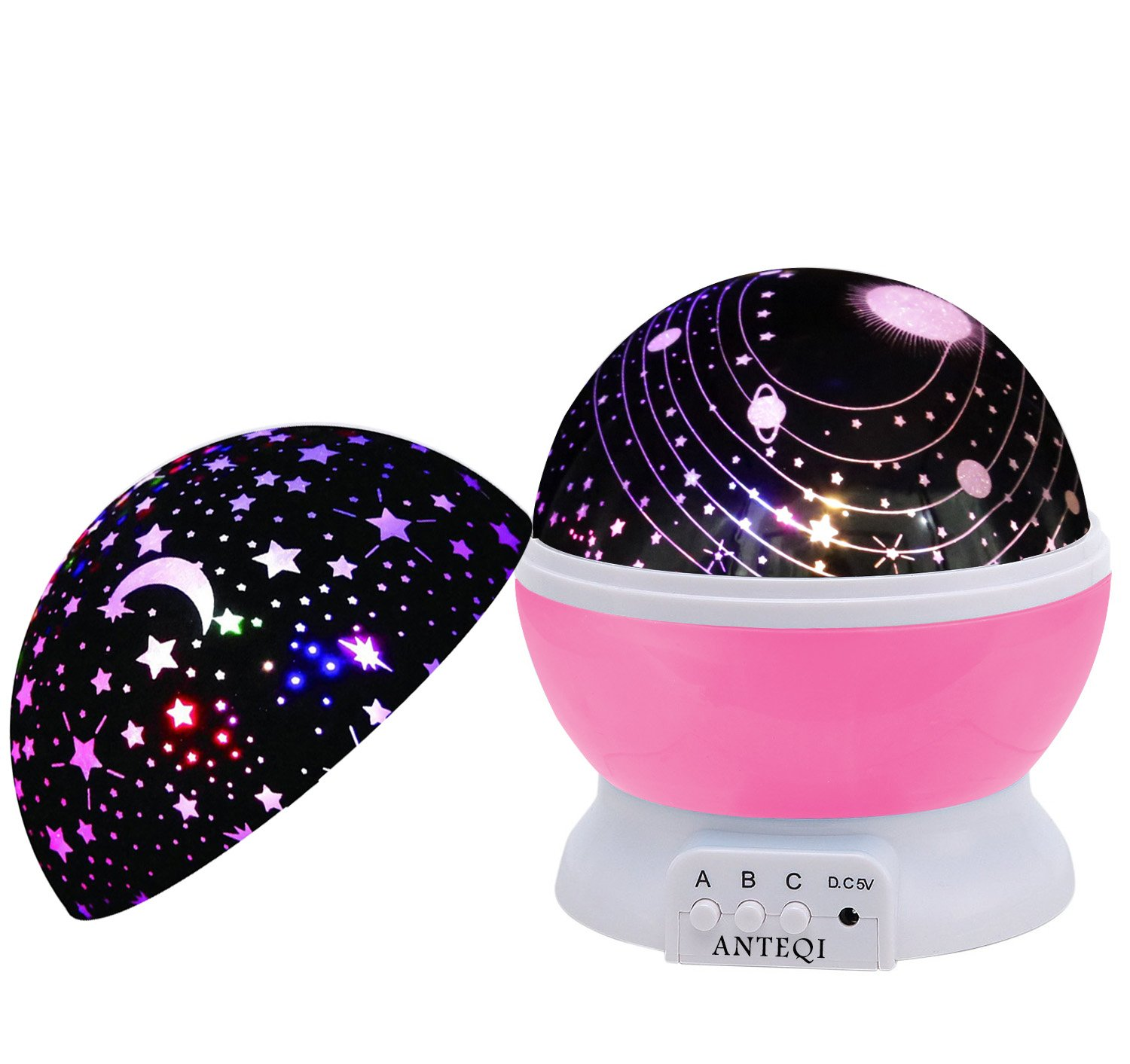 Amazon Com Night Light Kids Lamp Romantic Rotating Sky