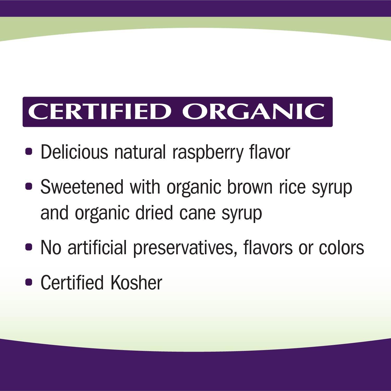 Sambucus Zinc lozenges with Elderberry and Vitamin c, Honey Lemon Flavor, Gluten Free, Kosher Certified, 24 Count by Nature's Way (Image #9)