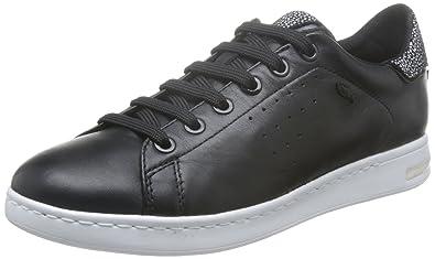 Geox Jaysen A, Sneakers Basses Femme, Noir (Black), 36 EU