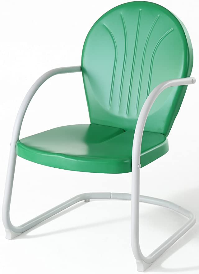 Charmant Amazon.com: Crosley Furniture Griffith Metal Chair, Grasshopper Green:  Kitchen U0026 Dining