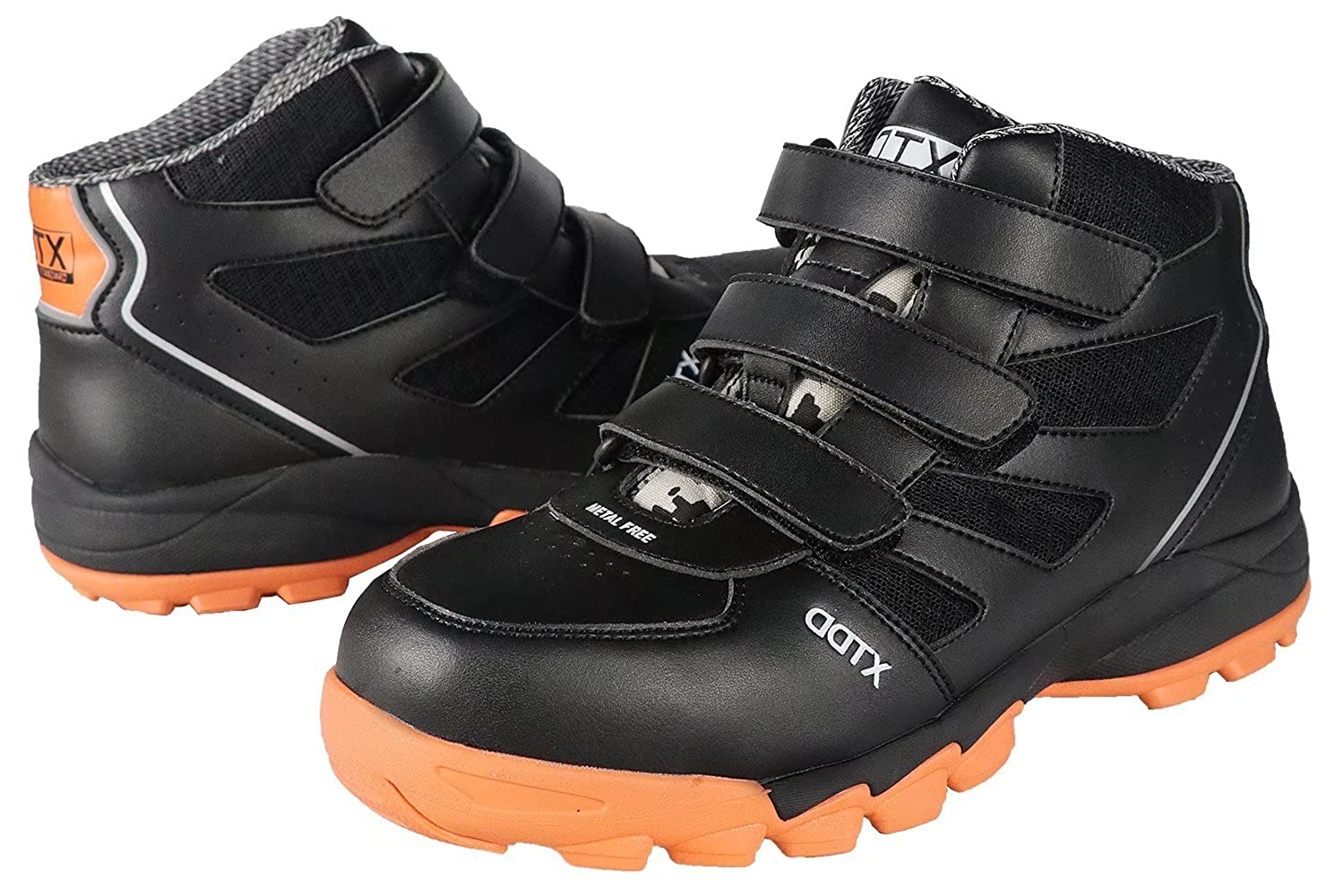 3a00c2aa08d88 DDTX Metal Free Cap Smash Proof Anti-Puncture EH Protection Work Boots for  Men Black